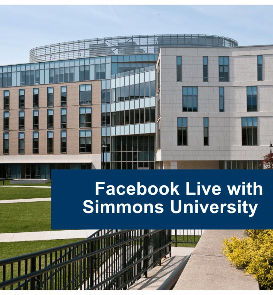 Фейсбук трансляція з Simmons University. Жіночий коледж та його переваги