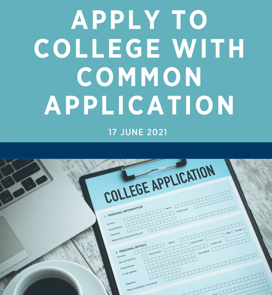 Apply to College with Common Application
