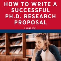 How to write a successful Ph.D. research proposal