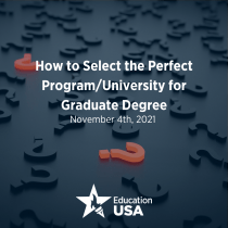 How to Select the Perfect Program/University for Graduate Degree